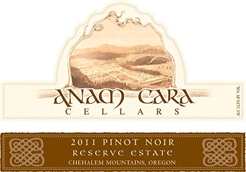 2011 Anam Cara Cellars Reserve Estate Pinot Noir 750 Ml
