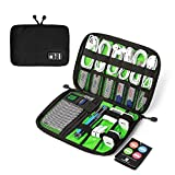 BAGSMART Universal Cable Organizer Travel Electronic Accessories Case