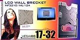 17-32型対応・VESA規格/液晶/プラズマ壁掛け金具3210 テレビ金具/地デジチューナー