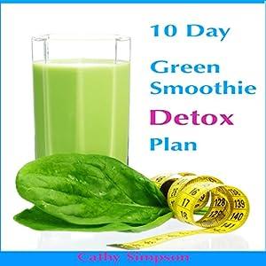 10-Day Green Smoothie Detox Plan Audiobook