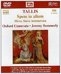 Spem in Alium DVD-a (DVD Audio)