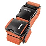 Hama 2 Way Luggage Strap - 5 x 200 cm/5 x 230 cm, Orange