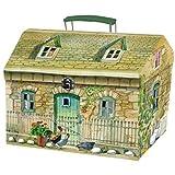 Emma Bridgewater CHILDRENS PLAY TEA SET IN HOUSE BOX, Melamine, Various , , Set of1