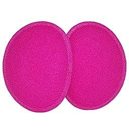Fleece Ear Mitts Bandless Ear Muffs 100g ThinsulateTM Insulation & DuPontTM Teflon® (Various Colors / 2 Sizes) (Regular, Fuchsia)