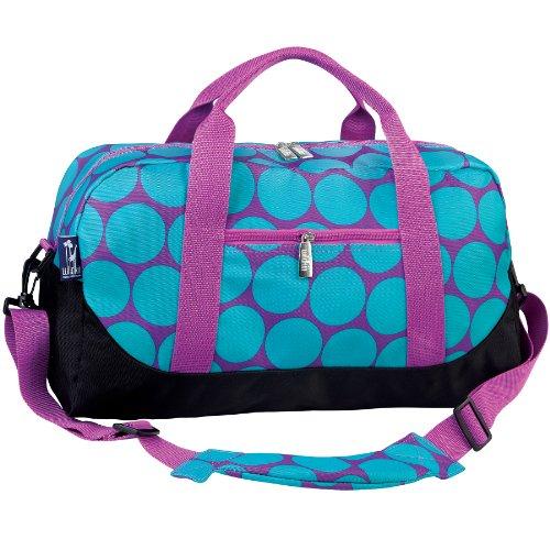 wildkin-big-dots-aqua-overnighter-duffel-bag
