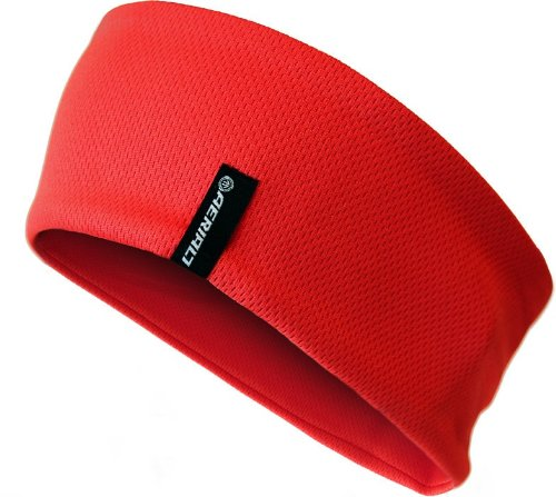 Aerial7 Sports Headband Red, One Size