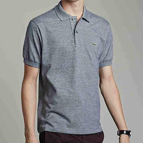 Lacoste Polo Uomo Navy Blue Mouline M