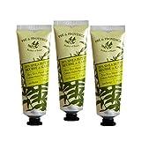 Three (3) Pre de Provence 1 Ounce Travel Size Tubes 20% Shea Butter Hand Creams - Verbena