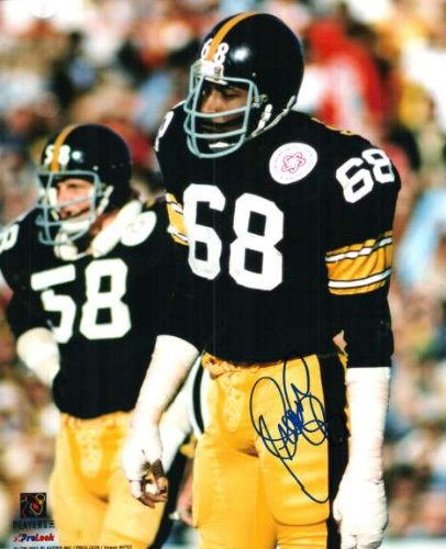 Autographed LC Greenwood Pittsburgh Steelers 8x10 Photo at Amazon.com