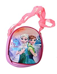 Art Box Small Size FROZEN Print Sling Bag For Girls ( Birthday And X Mas Gift )