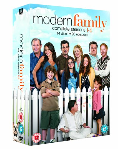 Modern Family - Season 1-4 [DVD]