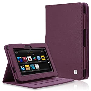 CaseCrown Ridge Standby Case (Purple) for 2012 1st Generation Amazon Kindle Fire HD 7 Inch with Auto Sleep Function (DOES NOT FIT HDX MODEL)
