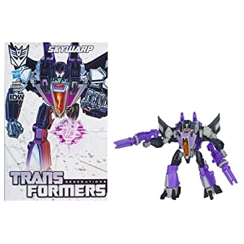 Transformers Sky Warp Decepticon mit Comic Book – Transformers Generations kaufen