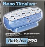 Babyliss Pro BABNTCHV15 Professional Nano Titanium 12 Hair Roller Set