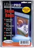 Ultra Pro UPSLTEAM Card Sleeves - Team Bags - Resealable