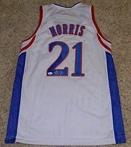 Markieff Morris Autographed Jersey - Ku Kansas Jayhawks #21 - JSA Certified -... by Sports+Memorabilia