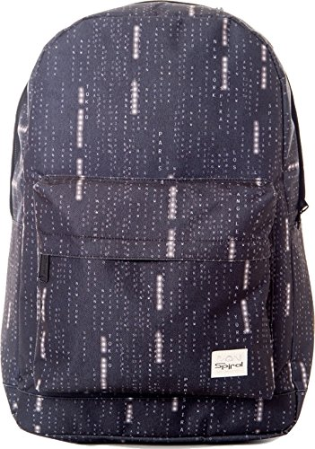SpiralOG Backpack - OG zaino unisex adulto , Nero (World Matrix Black), Taglia unica