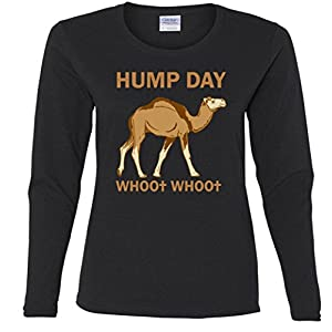 HUMP DAY whoo whoo Missy Fit Long Sleeve T-Shirt