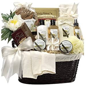 Art of Appreciation Gift Baskets Essence of Luxury Spa Bath and Body Set by Art of Appreciation Gift Baskets