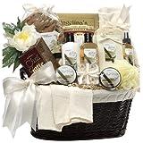 Art of Appreciation Gift Baskets Essence of Luxury Vanilla Spa Bath and Body Set ~ Art of Appreciation...