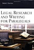 img - for Legal Research and Writing for Paralegals book / textbook / text book