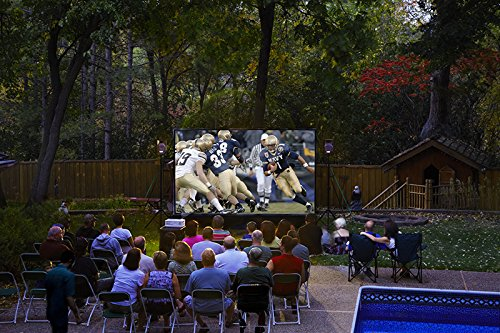 10′ Backyard Theater System W/Optoma Projector+WiFi