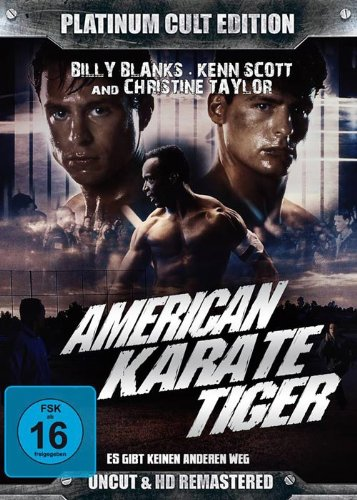 American Karate Tiger ( Platinum Cult Edition )