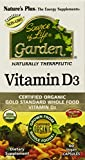 Nature's Plus Source of Life Garden Vitamin D3 -- 60 Vegetarian Capsules