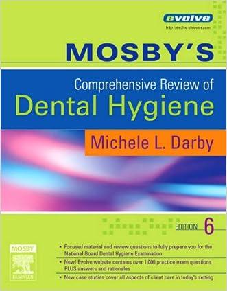 Mosby's Comprehensive Review of Dental Hygiene, 6e written by Michele Leonardi Darby BSDH  MS