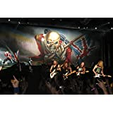 Posterhouzz Music Iron Maiden Band (Music) United Kingdom Heavy Metal Metal Hard Rock Classic Classic Rock Concert...