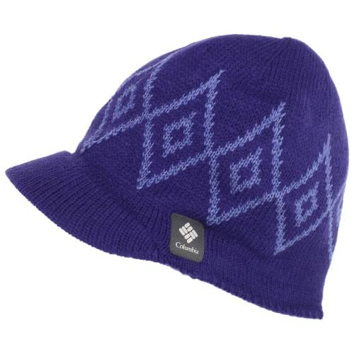 Amazon.com : Columbia Women's Diamond Heat Visor Beanie : Cold Weather