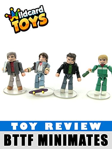 Back to the Future 1985 Return to Hill Valley Toy Minimates Review