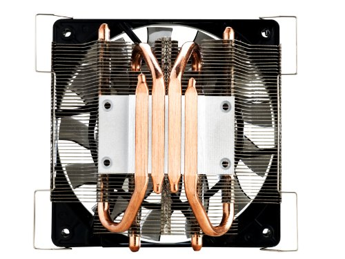 Cooler master geminii m4 cpu cooler with 4 direct contact heat pipes