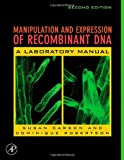 img - for Manipulation and Expression of Recombinant DNA, Second Edition book / textbook / text book