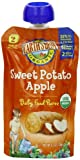 Earths Best Organic Sweet Potato Apple Puree, 4.2 Ounce Pouches (Pack of 12)