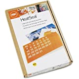 GBC HeatSeal UltraClear Thermal Laminating Pouches, Legal Size, 3 mm Thickness, 14.5 x 9 Inches, Clear, 100 Pouches per Pack (3745011)