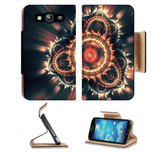Patterns Range Light Shine Glow Samsung Galaxy S3 I9300 Flip Cover Case With Card Holder Customized Made To Order Support Ready Premium Deluxe Pu Leather 5 Inch (132Mm) X 2 11/16 Inch (68Mm) X 9/16 Inch (14Mm) Luxlady S Iii S 3 Professional Cases Accessor front-584742