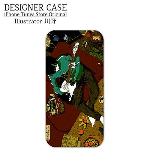 iPhone6S/6ハードケース『テレキャスター3』人気イラストレーター・川野 スマホケースカバー◇4.7インチ