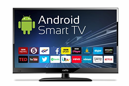 "12 Volt Cello C24ANSMT 24"" Android Smart LED TV with Wi-Fi and Freeview T2 HD"