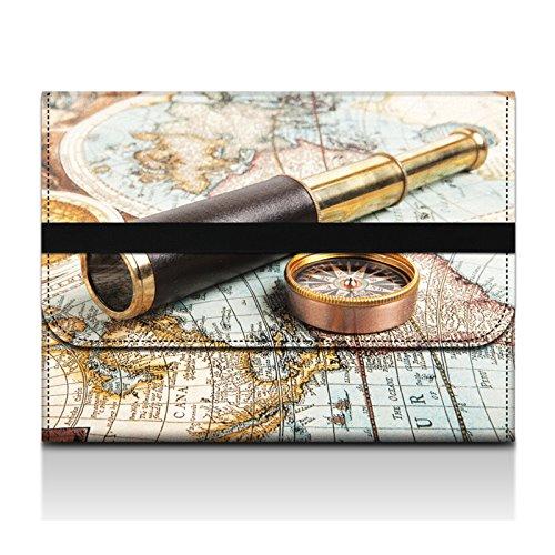 "Corlfulcase® 2014 New 13"" 13.3"" Inch Laptop Wool Felt Case Sleeve Notebook Bag For Apple Macbook Pro 13 /Apple Macbook Air 13 /Acer Aspire S3 S5 S7/Asus Zenbook Prime Ux 13.3/Toshiba Z830 Z930/Samsung Np900 Np530 - Compass Binocular Sz13-67041"