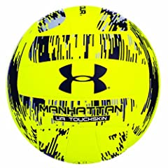 Buy Under Armour Official Composite Beach Play Manhattan Volleyball, Yellow Black by Under Armour
