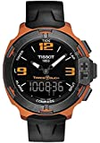 Tissot Men's T0814209705703 T-Race Touch Analog Display Swiss Quartz Black Watch
