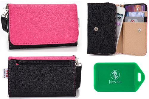 ALL IN ONE WALLET/PHONE HOLDER WITH BONUS WRISTLET