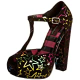 Abbey Dawn Starstruck T-bar Platforms Heels