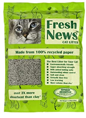 Fresh News Cat Litter, 11.36 Kg
