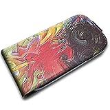 Franz Marc - Fighting Forms, Texture Portafoglio Magnetico Flip Custodia Protectiva in Pelle Wallet Case Cover...