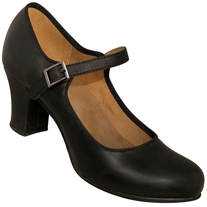 Retro Style Dance Shoes Aris 1940s Mary Jane Character Shoe $49.95 AT vintagedancer.com