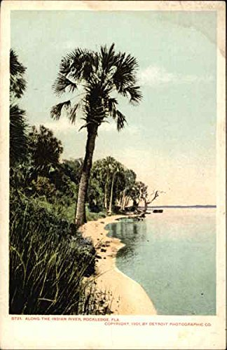 View along the Indian River in Rockledge, Florida