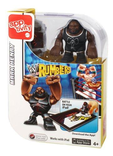 Mattel WWE Rumblers Apptivity Mark Henry Figure