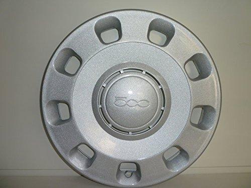 Set-4-Coppe-Ruota-Copricerchio-Borchie-Fiat-Nuova-500-dal-2007-r-14